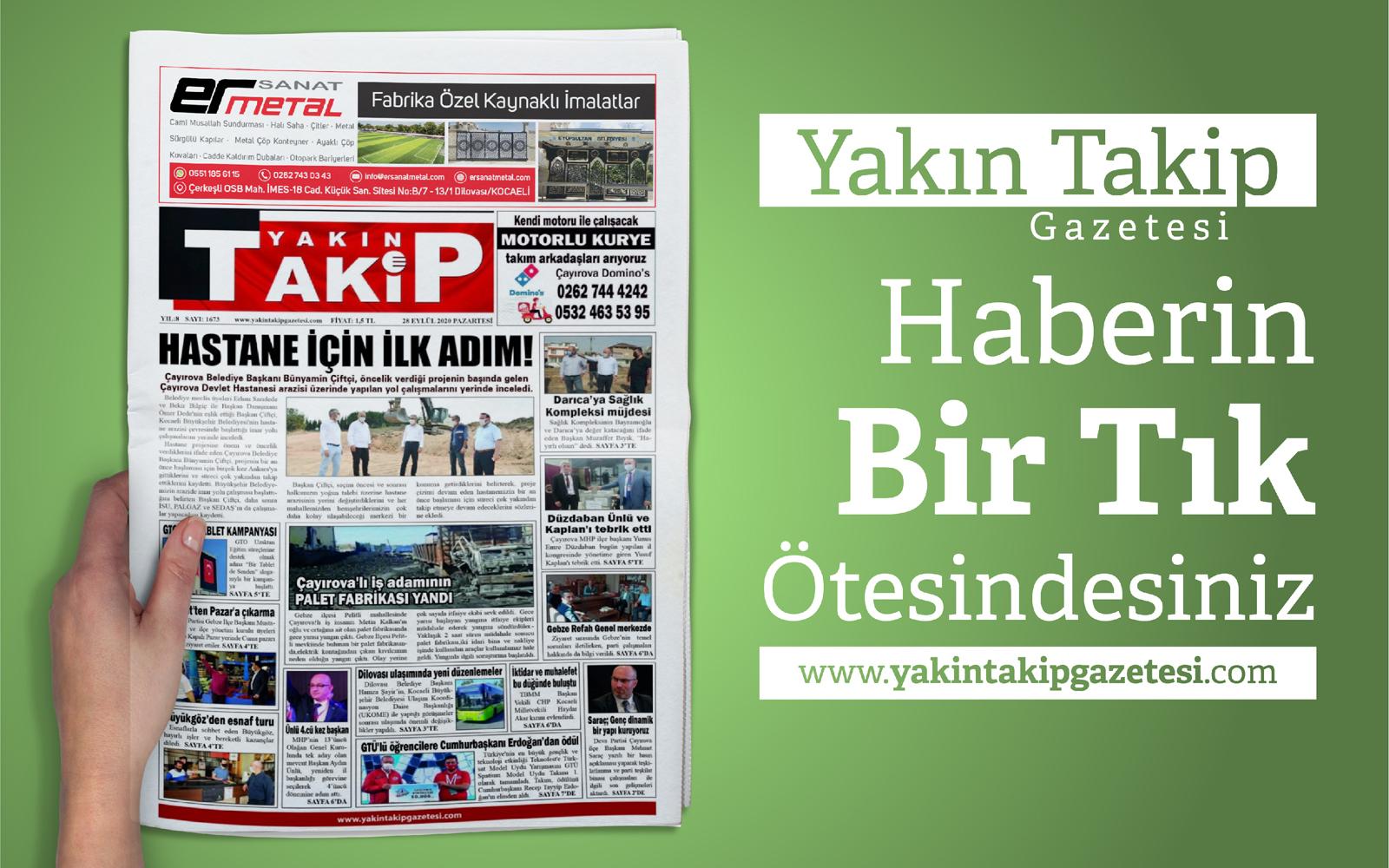 Yakın Takip Gazetesi